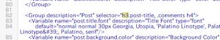 "bloggerの""標準見出し"" h2・h3・h4を変更した"